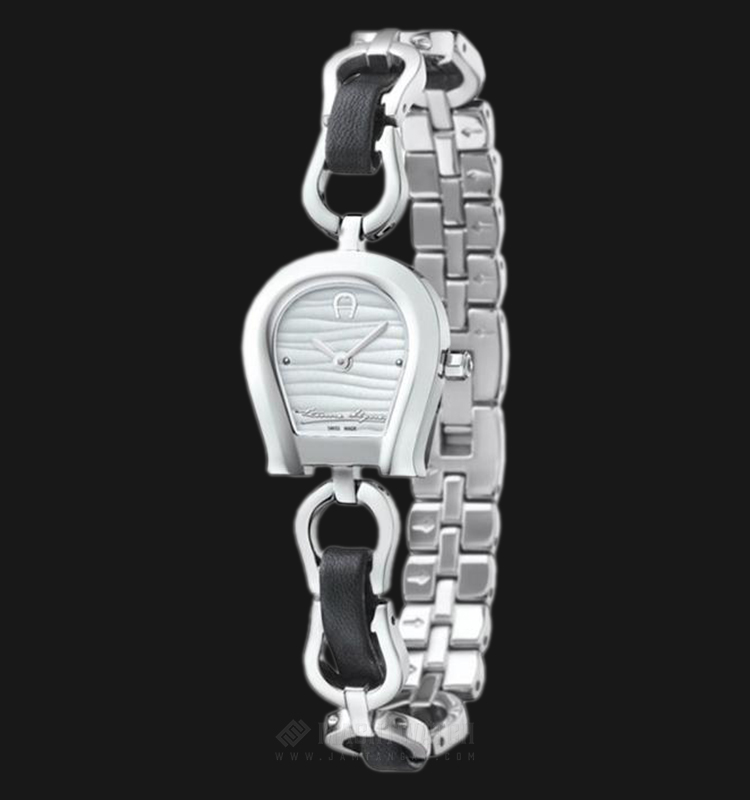 Aigner Perugina A07230 Ladies White Dial Stainless Steel Strap Machtwatch