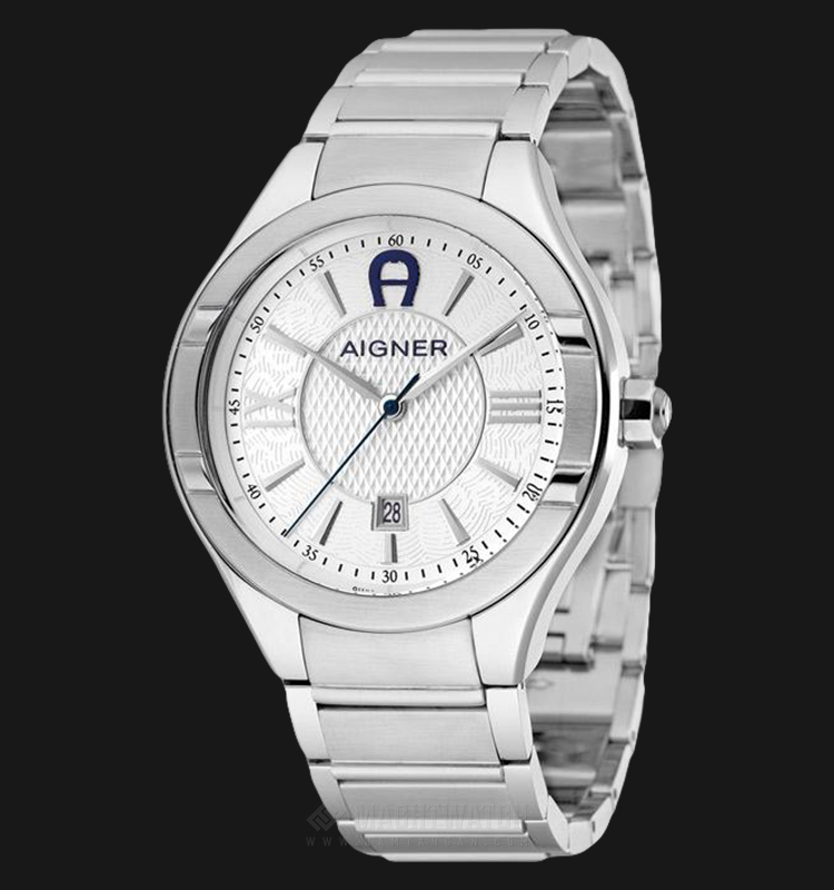 Aigner Lonato A102108 Men Silver Dial Stainless Steel Strap Machtwatch