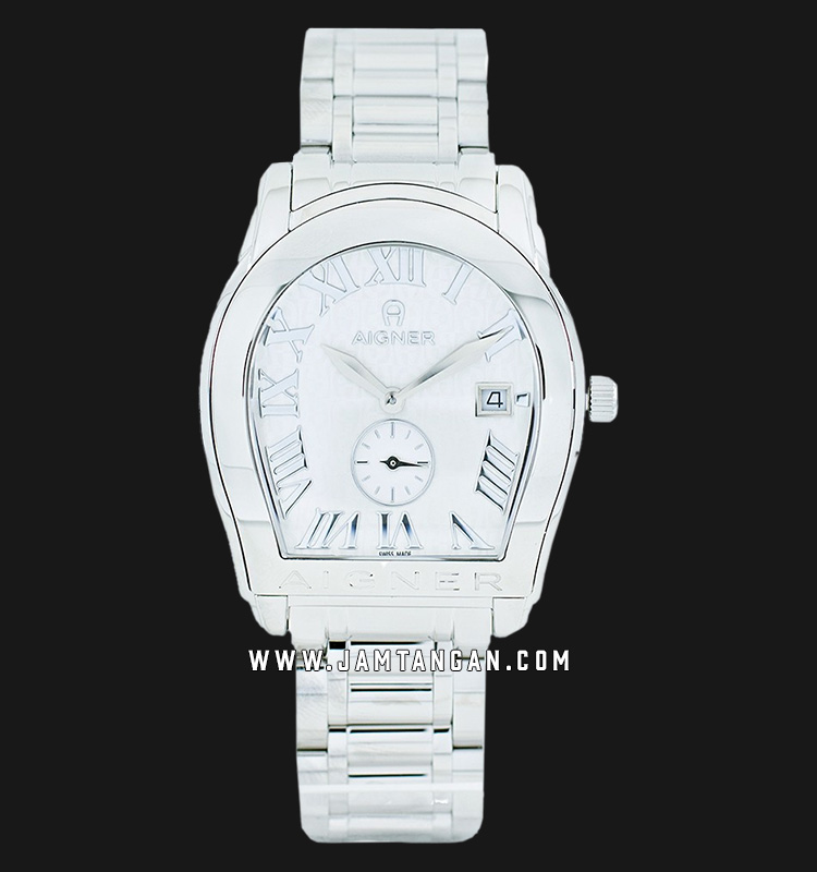 Aigner Modena A127107 Men Silver Dial Stainlees Steel Strap Machtwatch