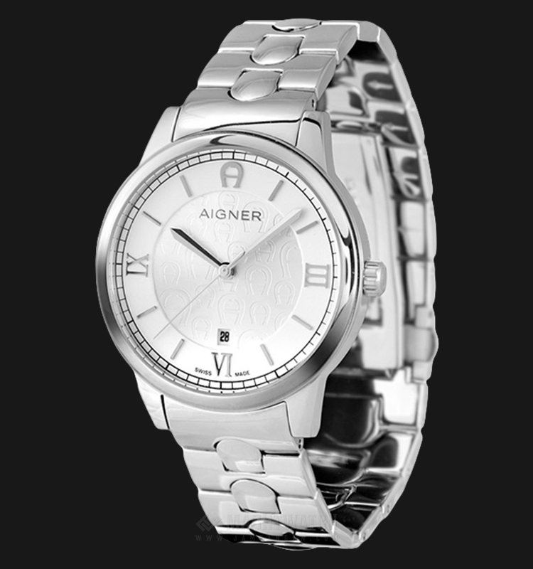 Aigner Monopoli A24048 Men Silver Dial Stainless Steel Strap Machtwatch