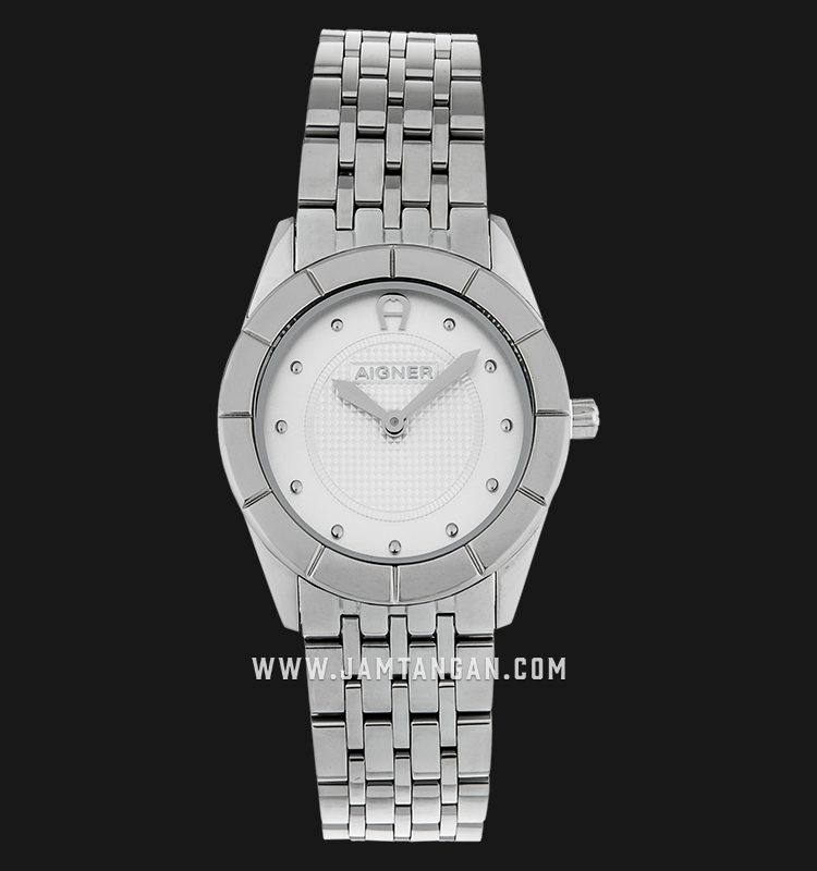 Aigner Livorno A24239 Silver Dial Stainless Steel Bracelet Machtwatch