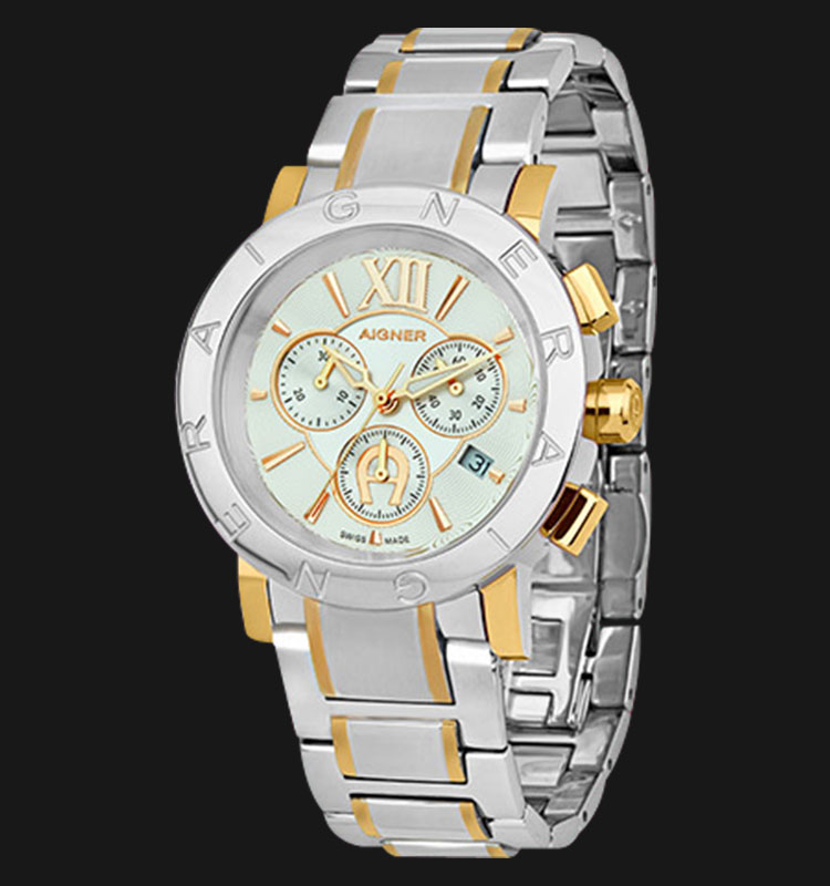 Aigner Cortina A26517 Stainless Steel White Dial Machtwatch