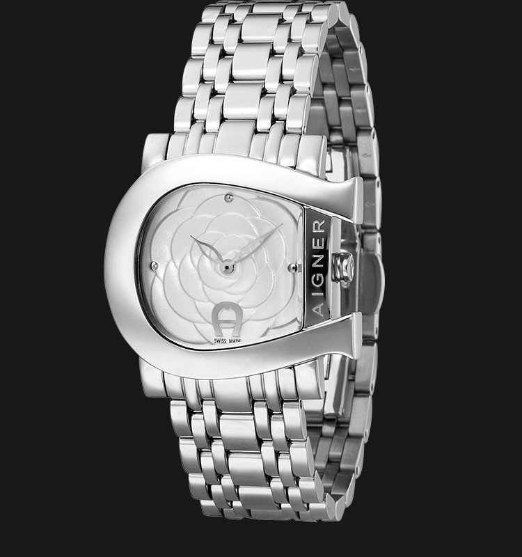 Aigner A31687 Stainless Steel White Dial Machtwatch