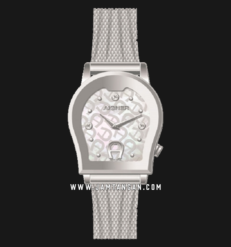 Aigner Vittoria A32299C Ladies Mother of Pearl Dial Stainless Steel Strap Machtwatch
