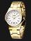 Alba AG8220X1 Ladies White Dial Gold Stainless Steel Strap Thumbnail