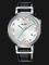 Alba AG8J23X1 Ladies Silver Dial Black Leather Strap Thumbnail