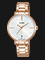 Alba AG8J58X1 Ladies Silver Dial Rose Gold Stainless Steel Strap Thumbnail