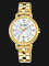 Alba AH7L54X1 Ladies Silver Dial Gold Stainless Steel Strap Thumbnail
