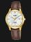 Alba AH7R40X1 Ladies Silver Dial Brown Leather Strap Thumbnail