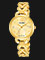 Alba AH8436X1 Ladies Gold Pattern Dial Gold Stainless Steel Strap Thumbnail