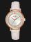 Alba AH8534X1 Ladies Silver Dial White Leather Strap Thumbnail