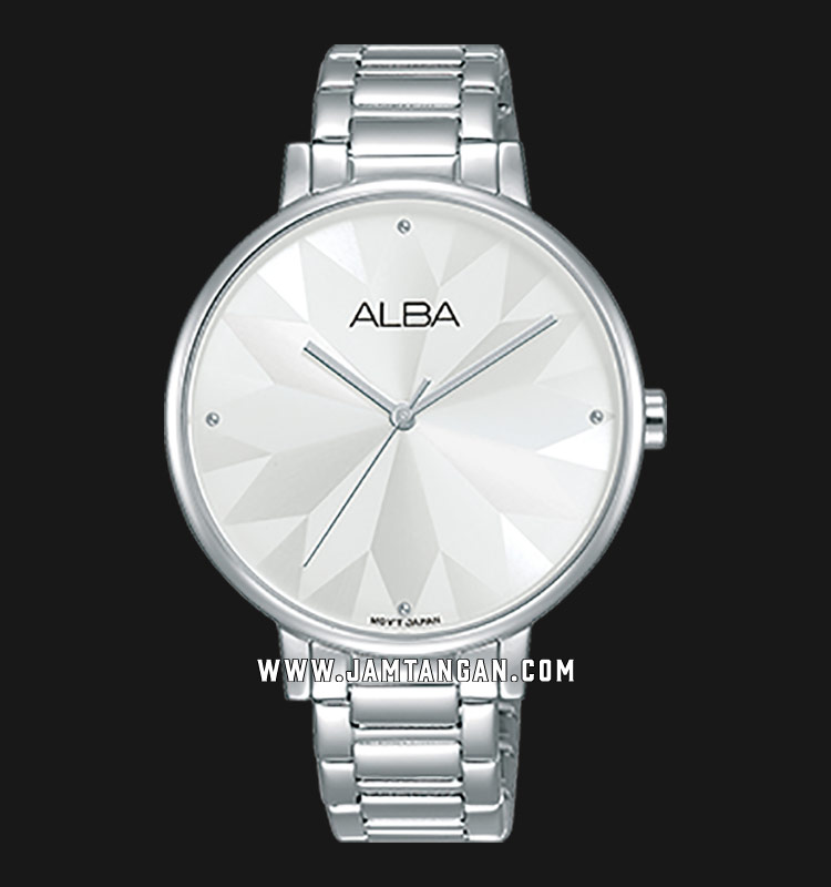 Alba AH8545X1 Ladies Silver Dial Stainless Steel Strap Machtwatch
