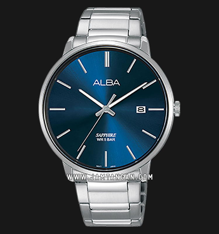 Alba AS9G67X1 Men Blue Dial Stainless Steel Strap Machtwatch