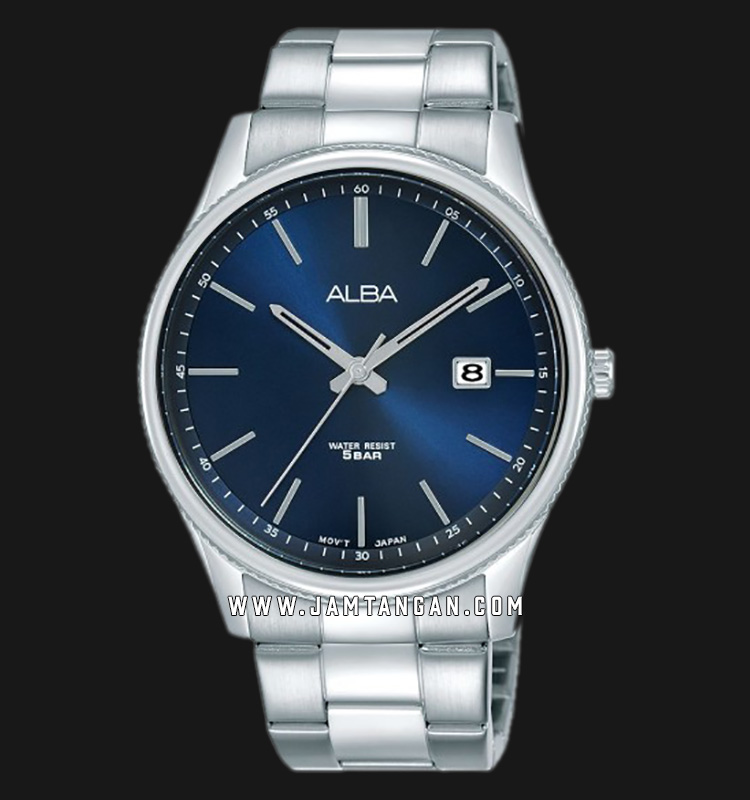 Alba AS9H55X1 Men Blue Dial Stainless Steel Strap Machtwatch