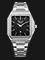 Alexandre Christie AC 8601 LD BSSBA Ladies Black Dial Stainless Steel Strap Thumbnail