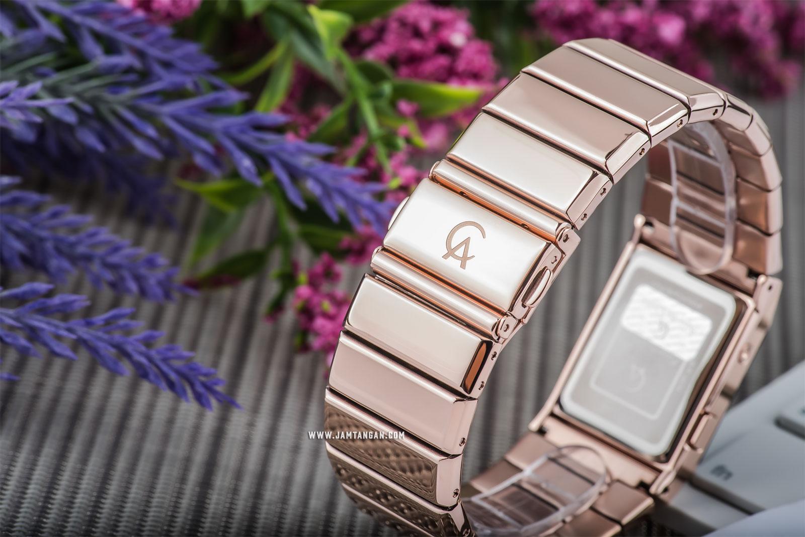 Alexandre Christie AC 9100 LH BRGBA Unisex Digital Dial Rose Gold Stainless Steel Machtwatch