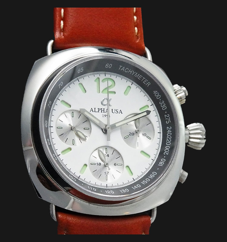 Alpha Radiomir 5421-WH Seagull Manual Winding Movement Machtwatch