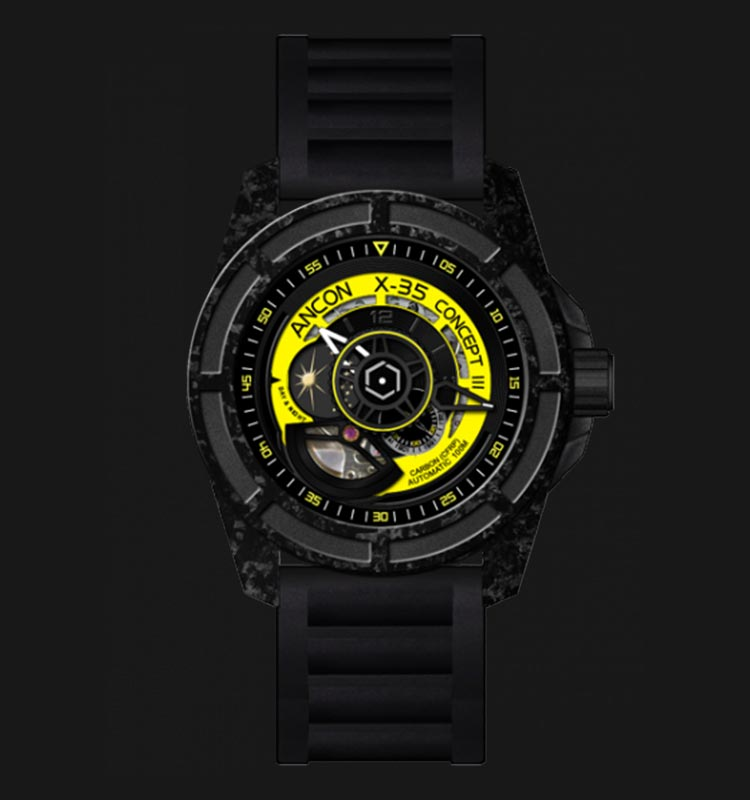 ANCON X-35C303 Concept III Carbon 45mm Machtwatch