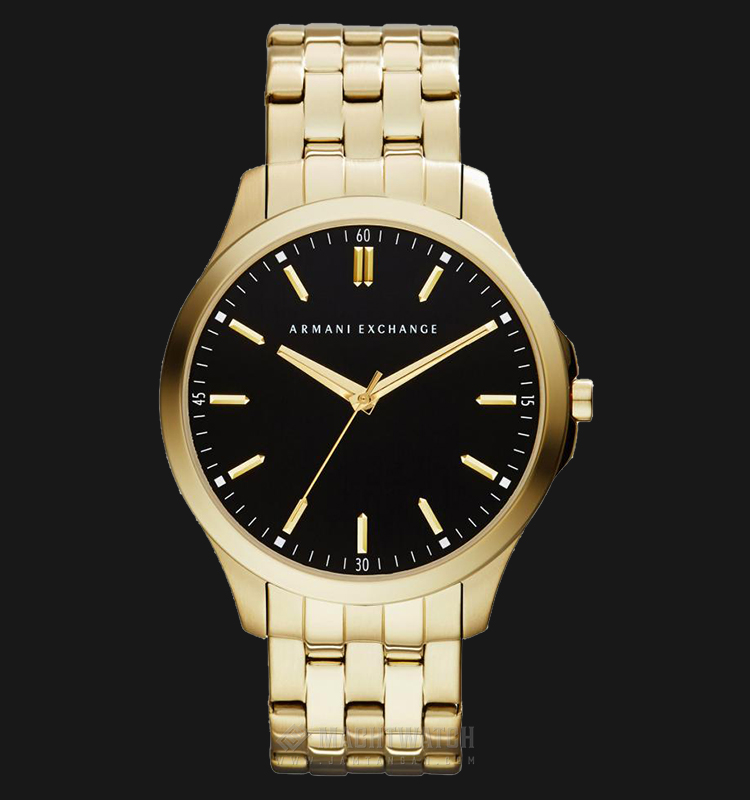 Armani Exchange AX2145 Black Dial Gold-tone Stainless Steel Watch Machtwatch