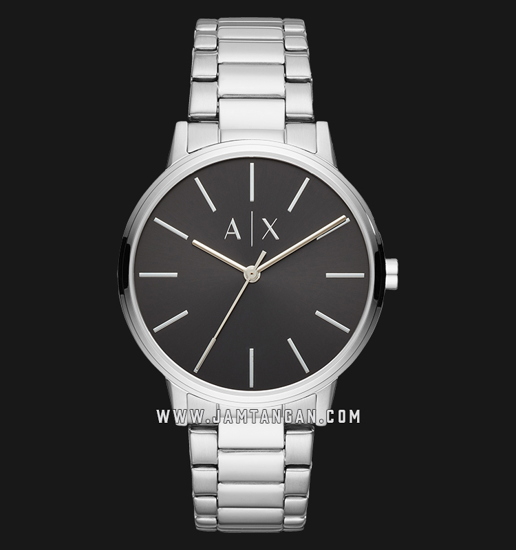 Armani Exchange Cayde AX2700 Black Dial Stainless Steel Strap Machtwatch
