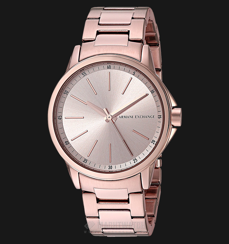 Armani Exchange AX4347 Ladies Rosegold Dial Rosegold-tone Stainless Steel Machtwatch