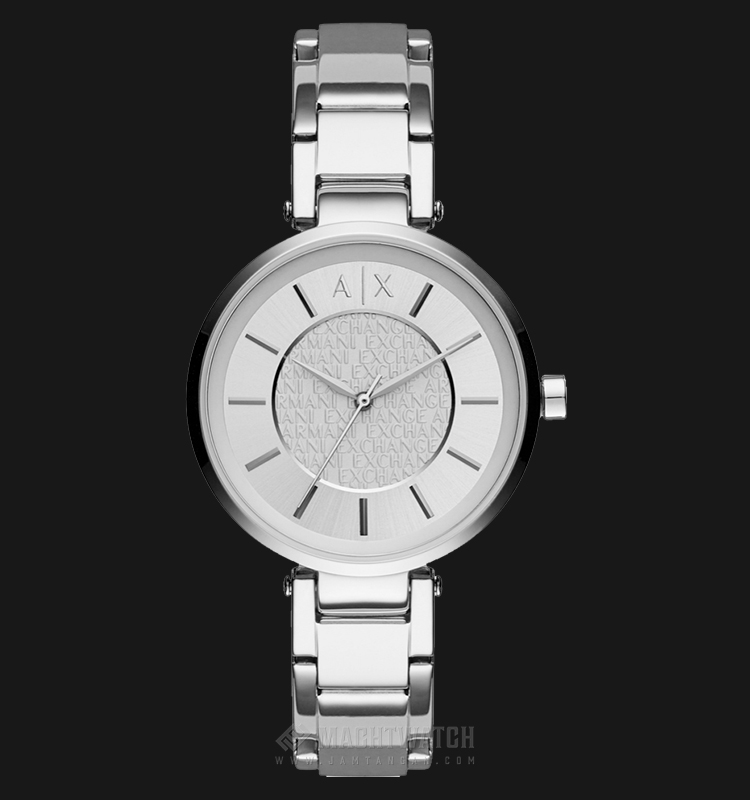 Armani Exchange AX5315 Ladies Silver Dial Stainless Steel Watch Machtwatch