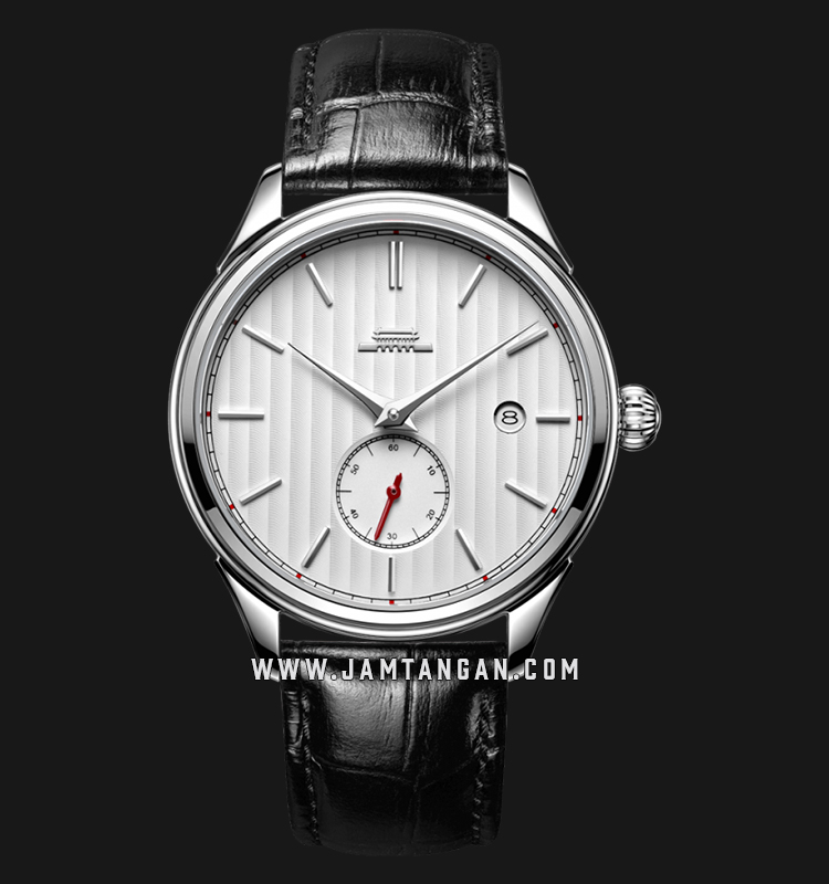 Beijing BG010001 Beihai Man White Dial Black Leather Strap Machtwatch