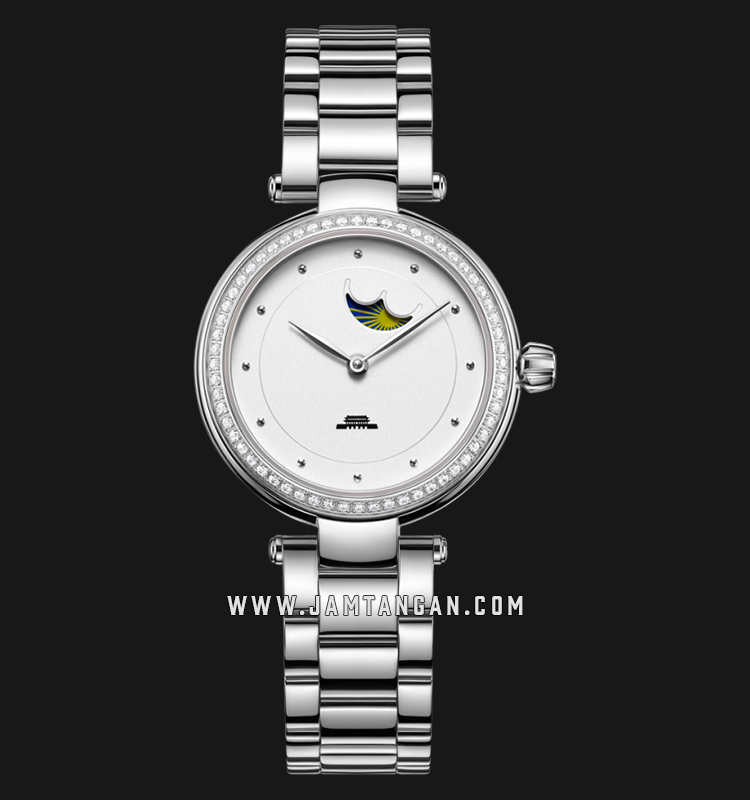 Beijing BL020005 Inspiration Ladies White Dial Stainless Steel Machtwatch