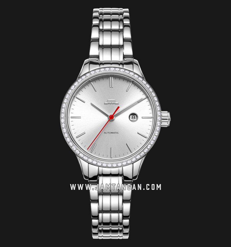 Beijing BL050010 Classic Ladies Silver Dial Stainless Steel Machtwatch