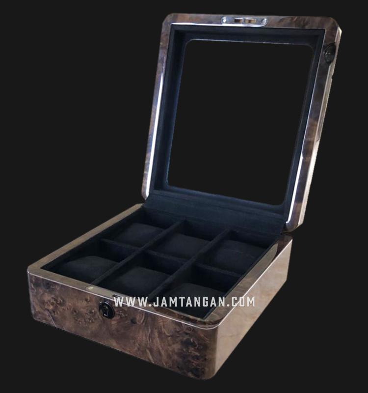 Boda Concept Watch Box Storage for 6 Watches [WATCH BOX 6] - Dark Burl Machtwatch
