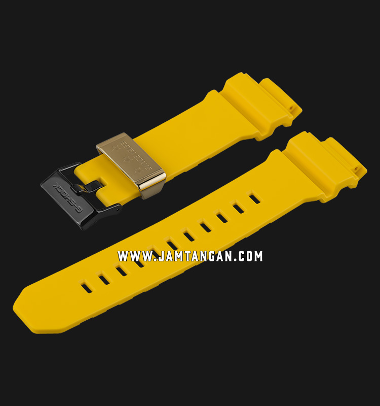 Strap Casio Model GD-X6930E-9 16mm Yellow Resin - P10455211 Machtwatch