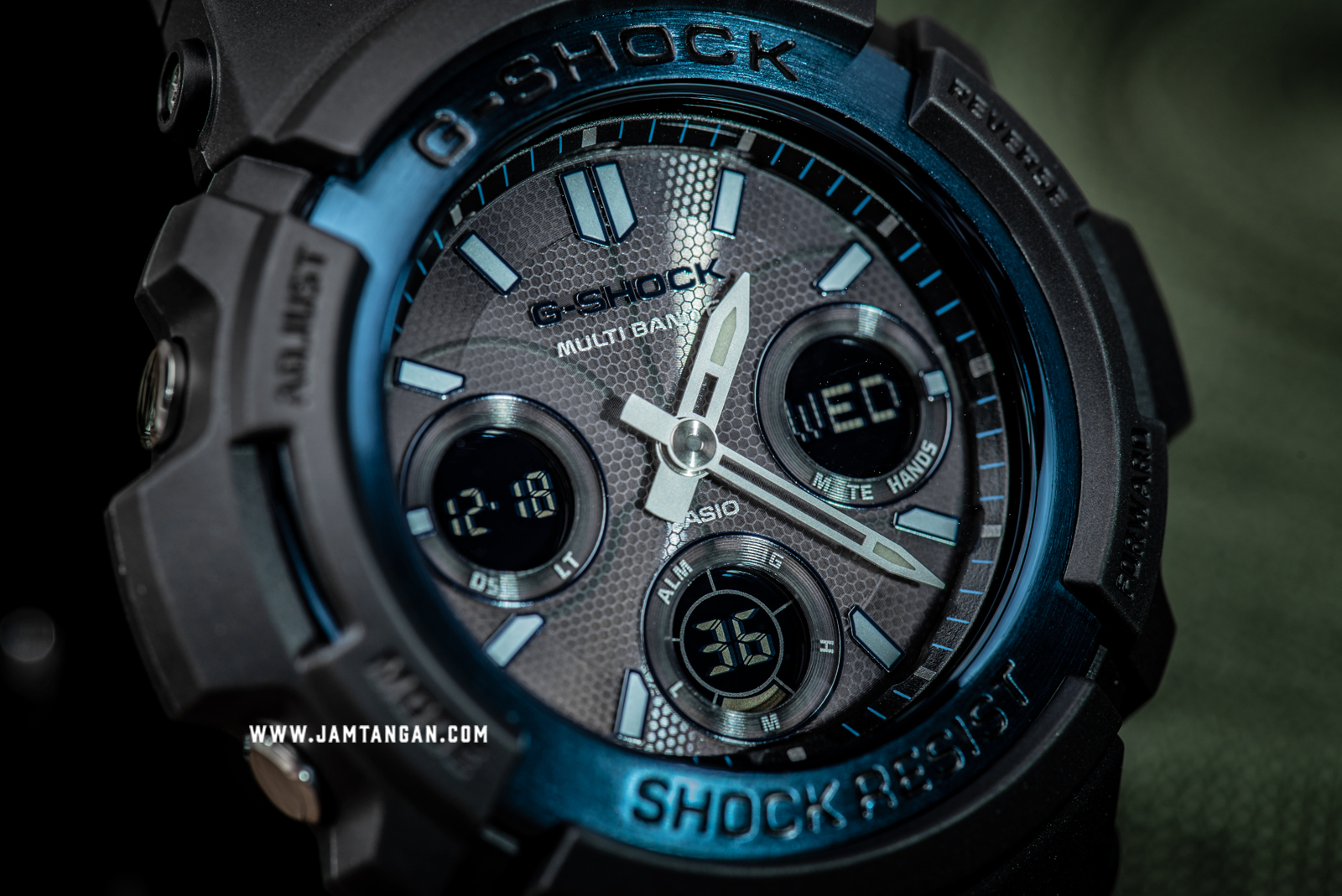 Casio G-Shock AWG-M100BC-2AJF Multiband 6 Tough Solar Resin Band Machtwatch