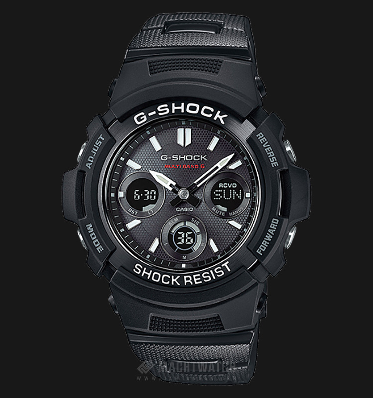 Casio G-Shock AWG-M100SBC-1AJF Multiband 6 Tough Solar Resin Band Machtwatch