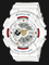 Casio Baby-G BA-110DDR-7ADR Special Color Models Digital Analog Dial White Resin Strap Thumbnail