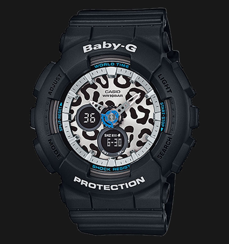 Casio Baby-G BA-120LP-1ADR 100M Water Resistant Resin Band Machtwatch