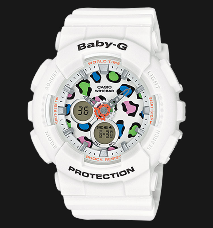 Casio Baby-G BA-120LP-7A1DR 100M Water Resistant Resin Band Machtwatch