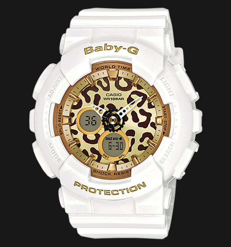 Casio Baby-G BA-120LP-7A2DR 100M Water Resistant Resin Band Machtwatch