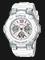 Casio Baby-G BGA-110BL-7BDR Ladies Digital Analog Dial White Resin Strap Thumbnail