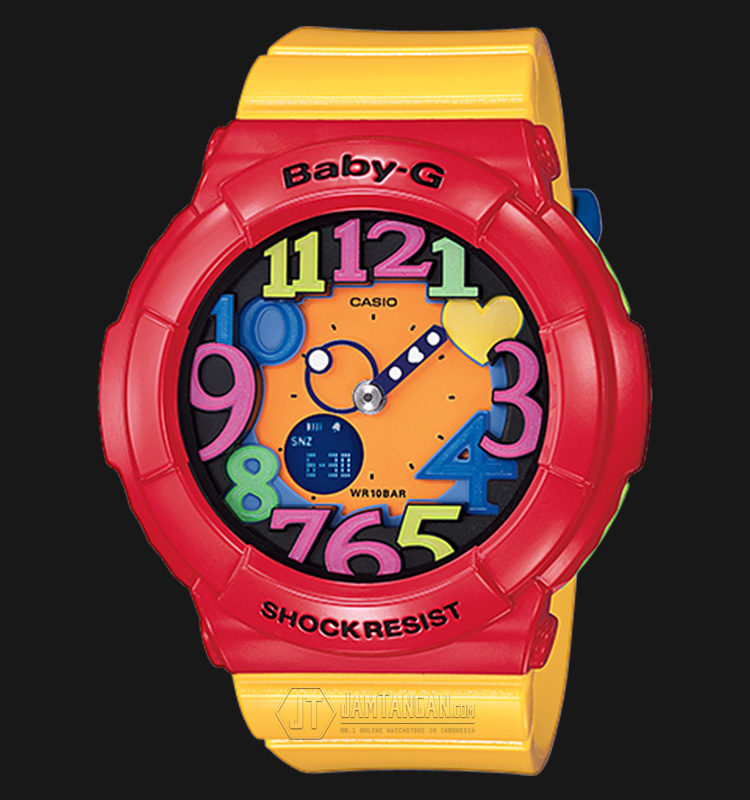 Casio Baby-G BGA-131-4B5DR Water Resistant 100M Resin Band Machtwatch