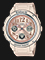 Casio Baby-G BGA-150CP-4BDR Special Color Models Biege Dial Pink Resin Band Thumbnail