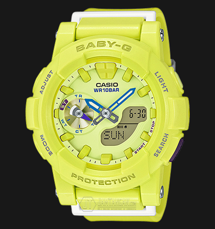 Casio Baby-G BGA-185-9ADR Water Resistant 100M Resin Band Machtwatch