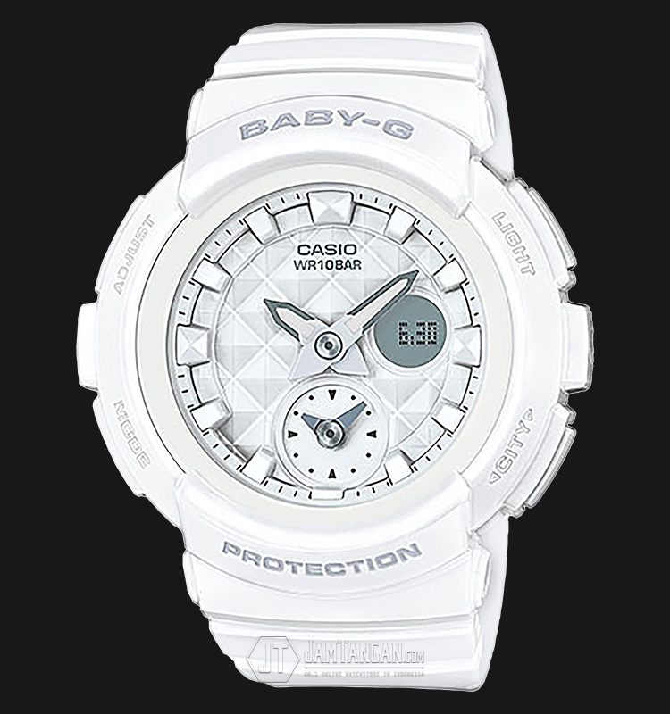 Casio Baby-G BGA-195-7ADR Water Resistant 100M Resin Band Machtwatch