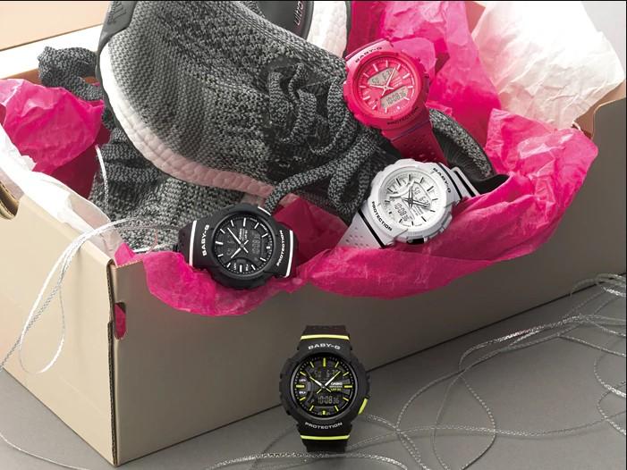 Casio Baby-G BGA-240-1A1DR Running Series Resin Band Machtwatch