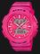 Casio Baby-G FOR RUNNING SERIES BABY-G BGA-240-4ADR Ladies Digital Analog Watch Pink Resin Band Thumbnail