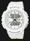 Casio Baby-G BGA-240BC-7ADR Ladies Digital Analog Dial White Resin Strap Thumbnail