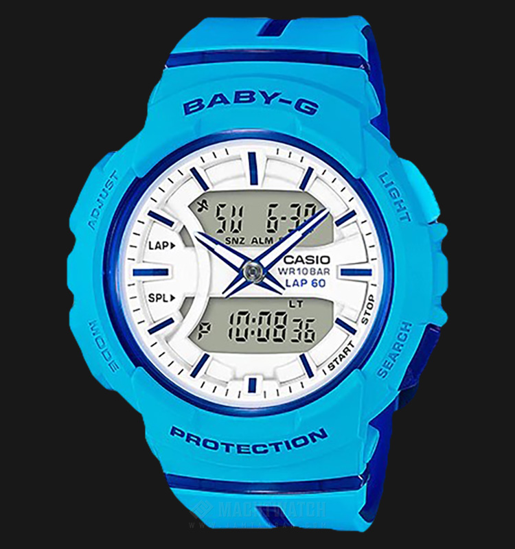 Casio Baby-G BGA-240L-2A2DR For Running Series Resin Band Machtwatch