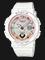 Casio Baby-G BGA-250-7A2DR Water Resistant 100M Digital Analog Dial Light Pink Resin Band Thumbnail