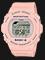 Casio Baby-G BLX-570-4DR G-Lide Digital Dial Peach Resin Strap Thumbnail