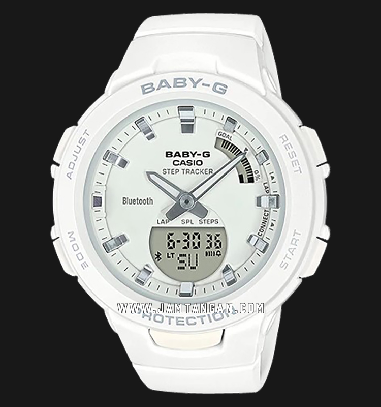 Casio Baby-G BSA-B100-7ADR G-Squad Step Tracker Smart Bluetooth® Machtwatch
