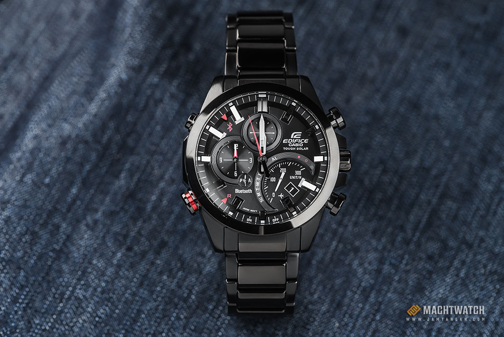Casio Edifice EQB-500DC-1ADR Bluetooth® Smart Solar Powered Machtwatch